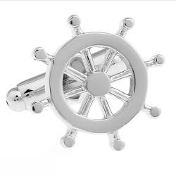 Ship's Wheel Cufflinks