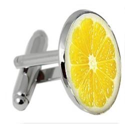 Lemon Slice Cufflinks