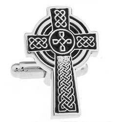 Cross Cufflinks (Celtic Cross)