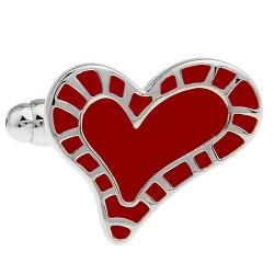 Valentine's Heart Cufflinks