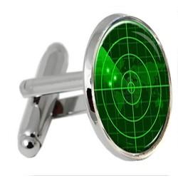 Radar Screen Cufflinks