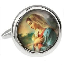 Christian Cufflinks (Mary)