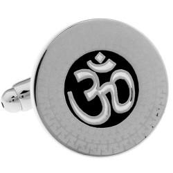 Yoga Symbol Cufflinks (Om)