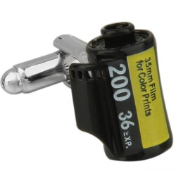 Camera Film Cufflinks