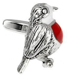Robin Red Breast Cufflinks