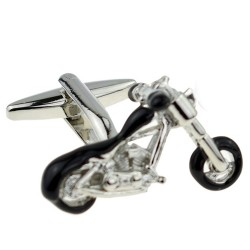 Motorcycle Cufflinks (Chopper)