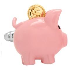 Piggy Bank Cufflinks