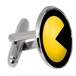 Pacman and Ghost Cufflinks