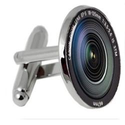 Camera Lense Face Cufflinks
