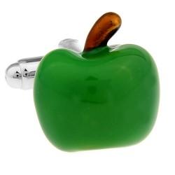 Green Apple Cufflinks