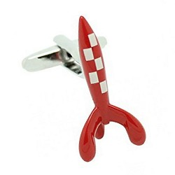 Red Rocket Cufflinks