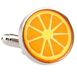 Orange Cufflinks