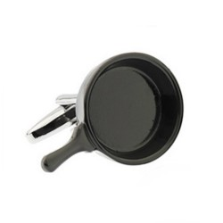 Frying Pan Cufflinks