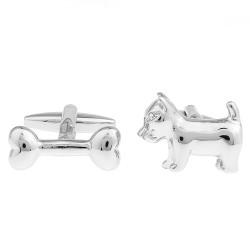Dog & Bone Cufflinks