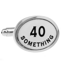 40th Birthday Cufflinks