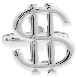 Money Cufflinks (Dollar Sign)
