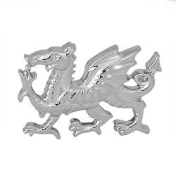 Sterling Silver Welsh Dragon Cufflinks