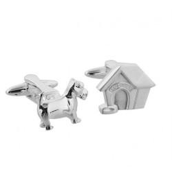 Dog & Kennel Cufflinks