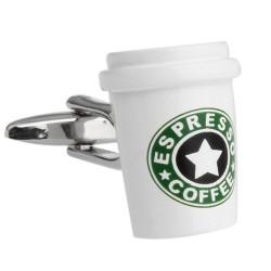 Coffee Cufflinks