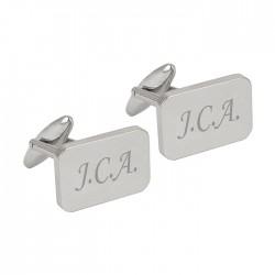 Personalised Rectangle Cufflinks